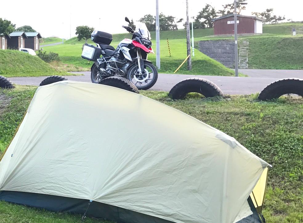キャンプツーリング