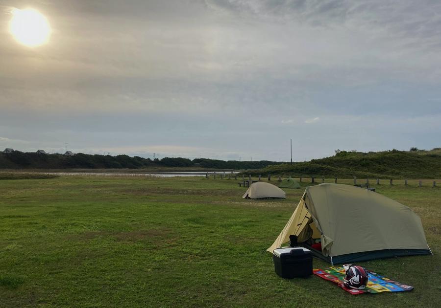 鏡沼海浜公園キャンプ場