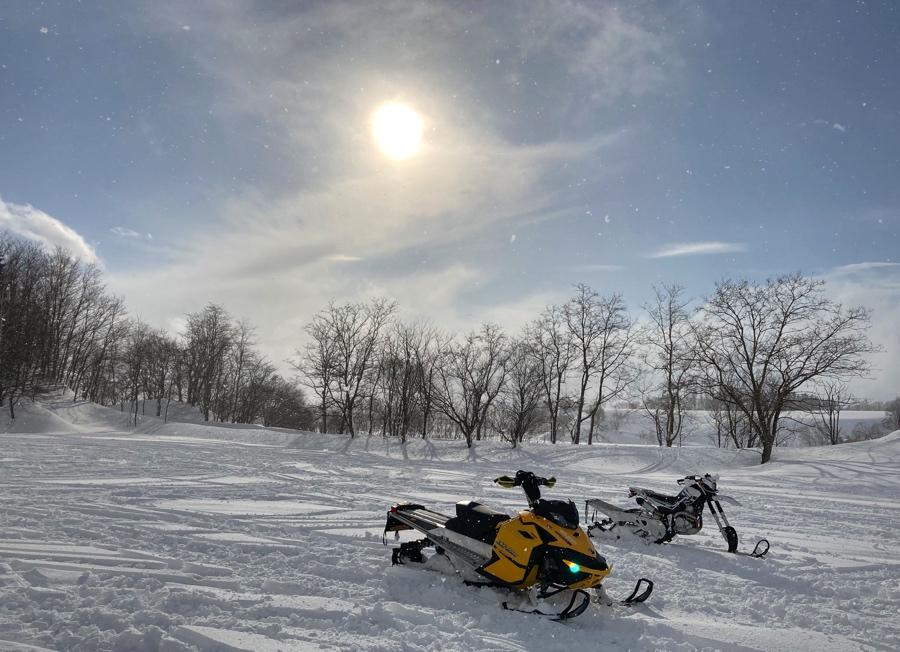 スノーモービル・スノーバイク